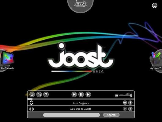 Joost screenshot